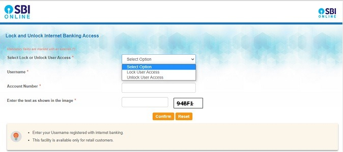 How to Deactivate SBI Internet Banking?
