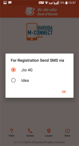 How to activate BARODA M Connect Plus?