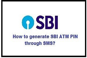 how to generate sbi atm pin through sms.