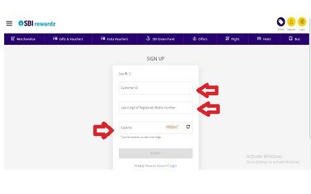 How to Register in SBI Rewardz?